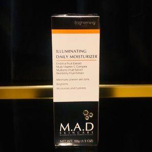 M.A.D Skincare Makeup - NIB M.A.D Skincare Illuminating Daily Moisturizer